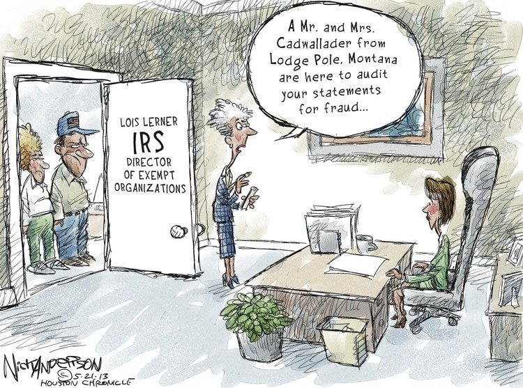 Nick Anderson for May 21, 2013 Comic Strip