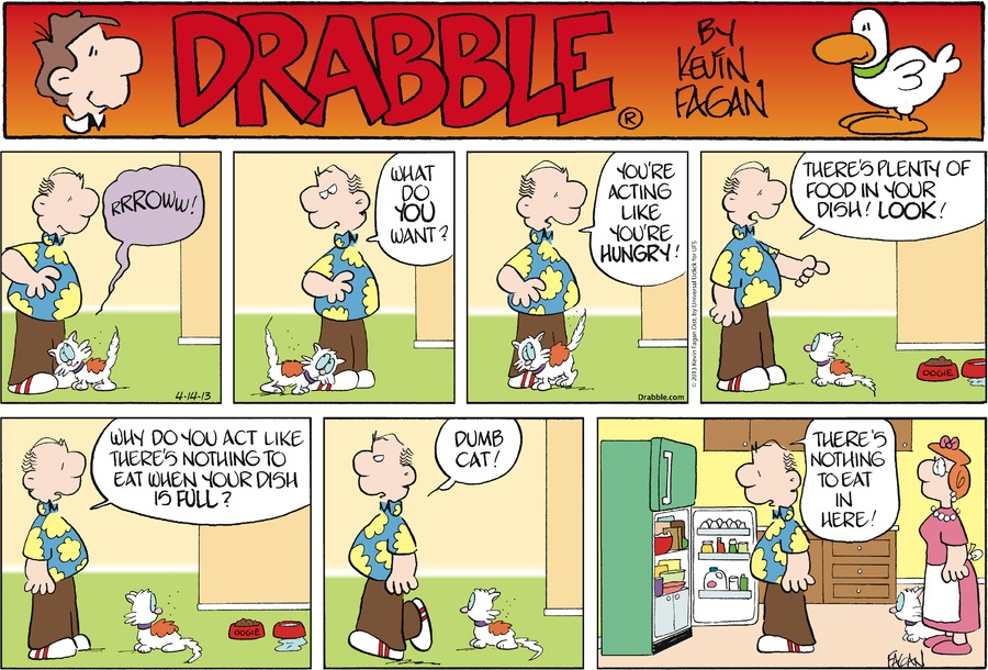 Drabble Comic Strip for April 14, 2013