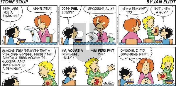 Stone Soup on Sunday September 24, 2017 Comic Strip
