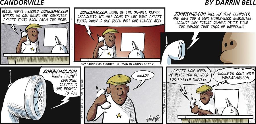Candorville for Apr 28, 2013 Comic Strip