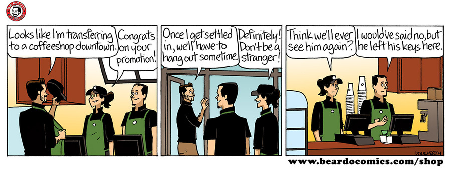 Beardo for Oct 11, 2017 Comic Strip