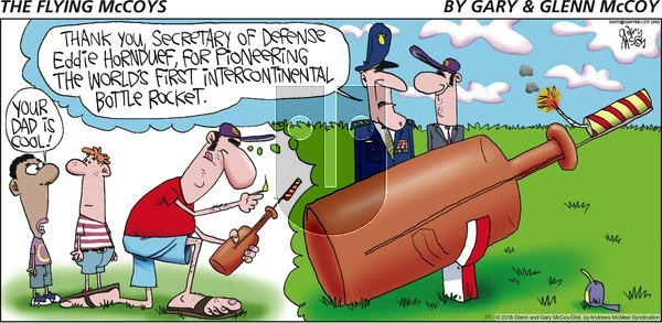 The Flying McCoys on Sunday July 1, 2018 Comic Strip