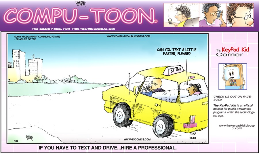 Compu-toon Comic Strip for December 28, 2014