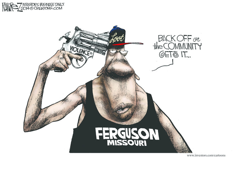 Michael Ramirez Comic Strip for August 17, 2014