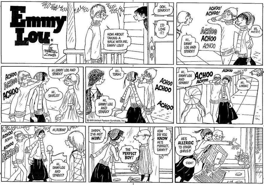 Emmy Lou Comic Strip for February 10, 2019