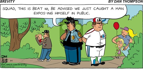 Brevity - Sunday September 1, 2013 Comic Strip