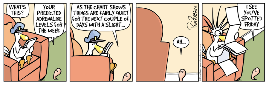 Ollie and Quentin Comic Strip for February 29, 2016