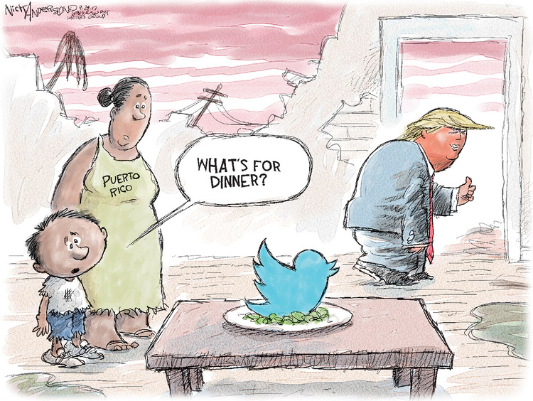 Nick Anderson for Sep 29, 2017 Comic Strip