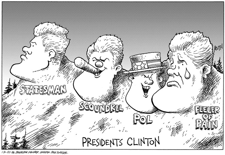 Presidents Clinton