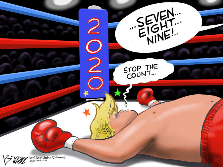 Steve Breen Comic Strip for November 06, 2020