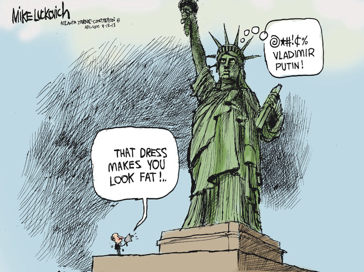 Mike Luckovich Comic Strip for September 13, 2013