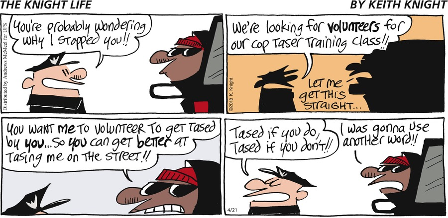 The Knight Life Comic Strip for April 21, 2019