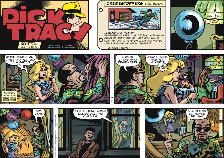 Dick Tracy Comic Strip for January 17, 2021