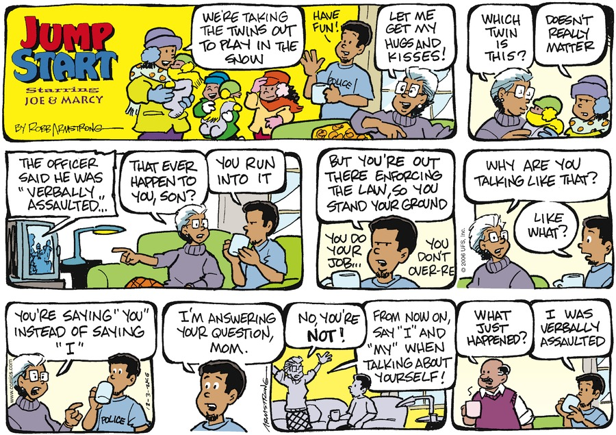 JumpStart Comic Strip for December 03, 2006