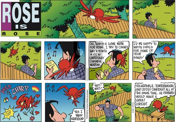 Rose is Rose on Sunday May 23, 2021 Comic Strip