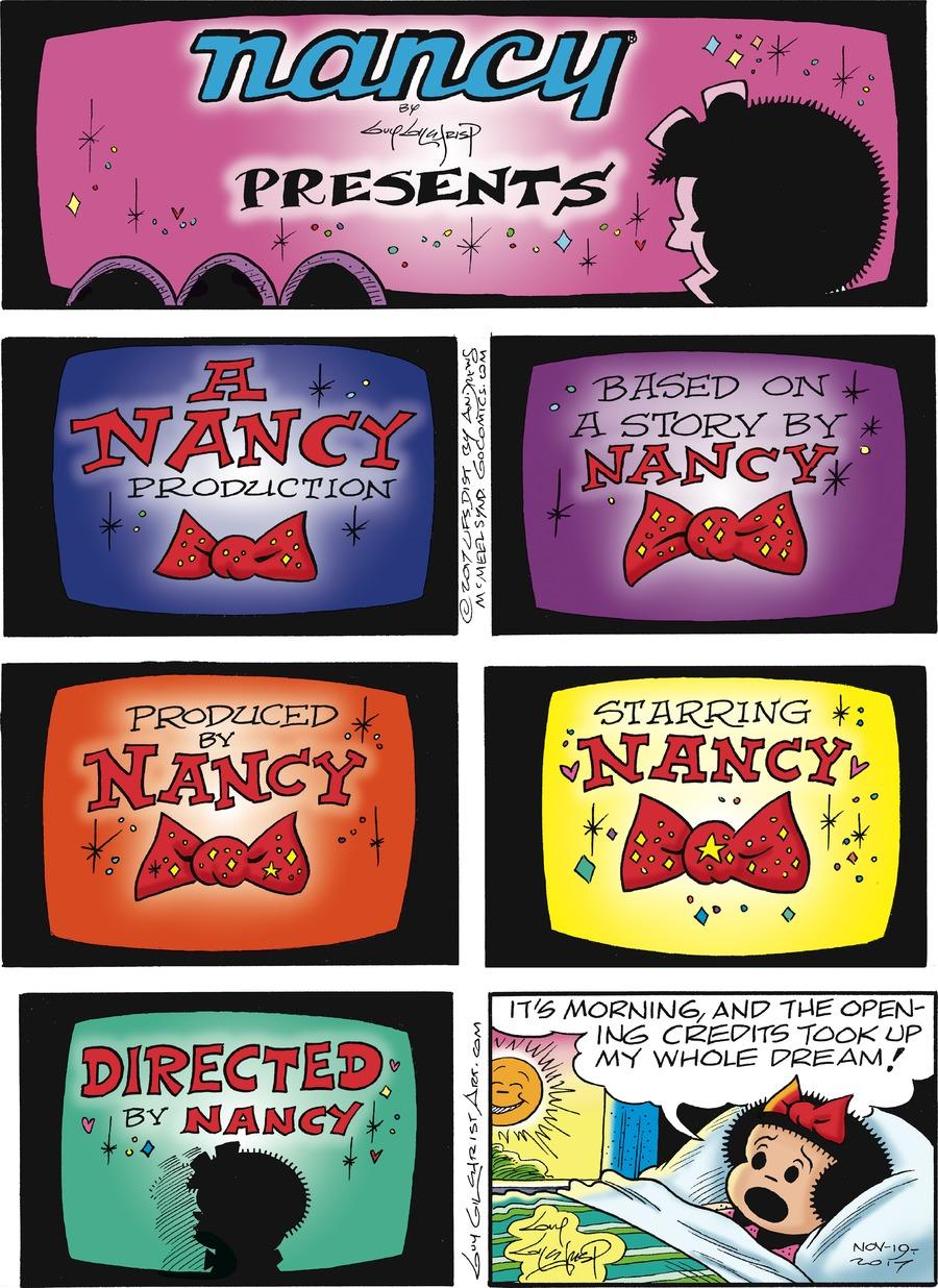 Nancy for Nov 19, 2017 Comic Strip