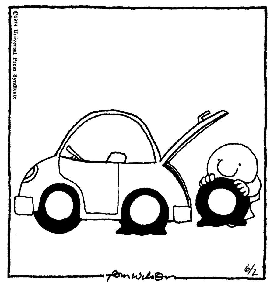 Ziggy for Jun 2, 1974 Comic Strip