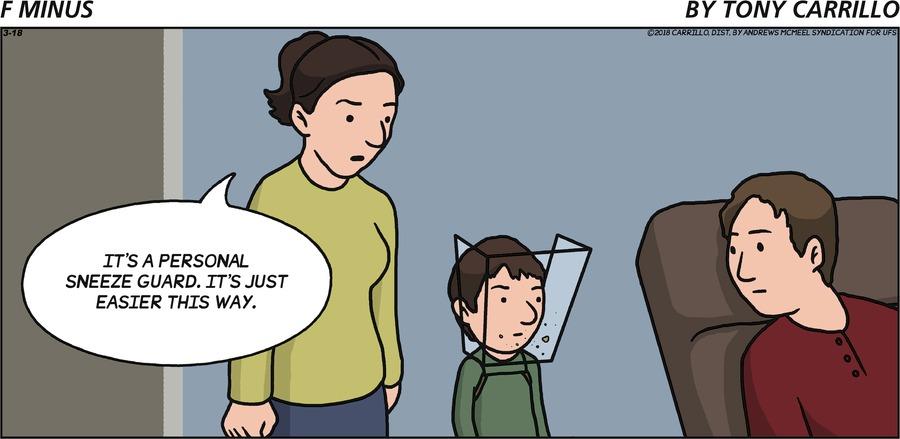 F Minus for Mar 18, 2018 Comic Strip