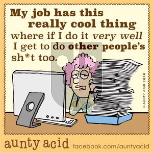 Aunty Acid - Monday February 17, 2020 Comic Strip