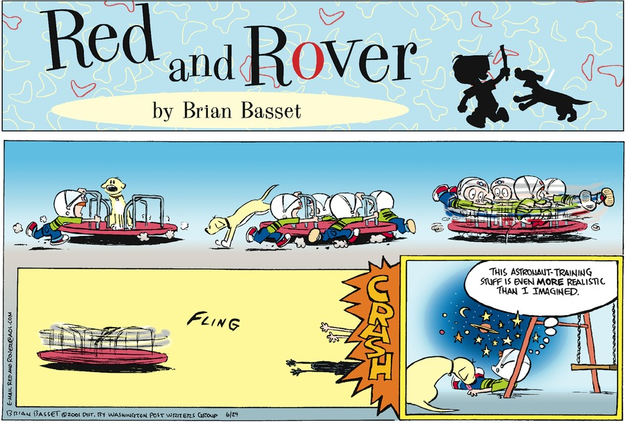 Red and Rover for Jun 24, 2001 Comic Strip