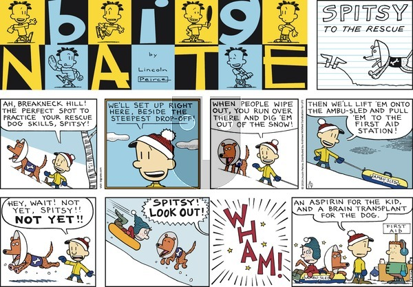 Big Nate on Sunday February 17, 2019 Comic Strip