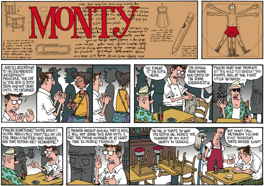 Monty for May 13, 2012 Comic Strip