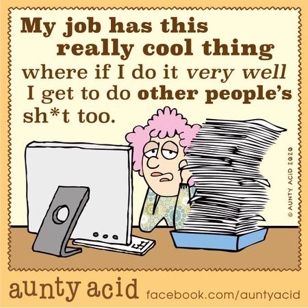 Aunty Acid Comic Strip for February 17, 2020