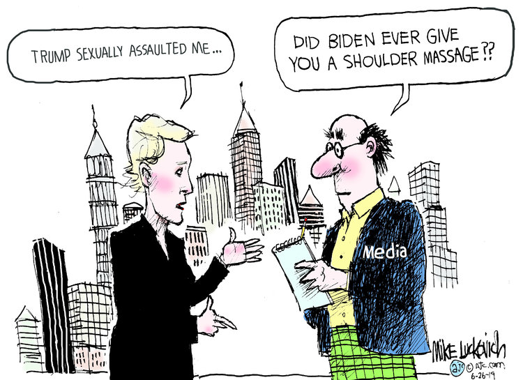 Mike Luckovich Comic Strip for June 26, 2019