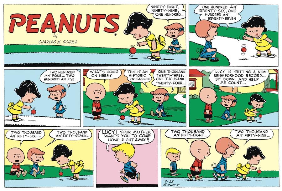 Peanuts Begins Comic Strip for December 31, 2016