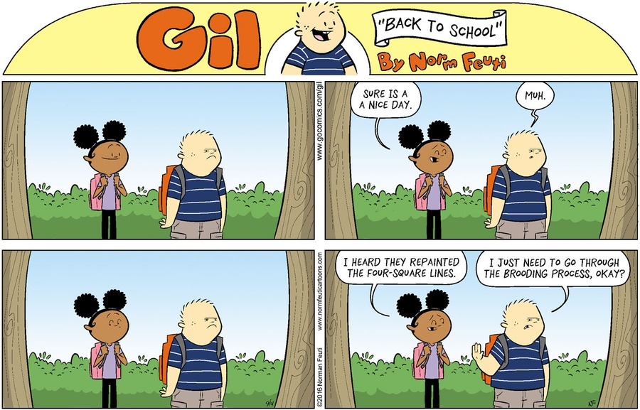 Gil Comic Strip for August 30, 2020