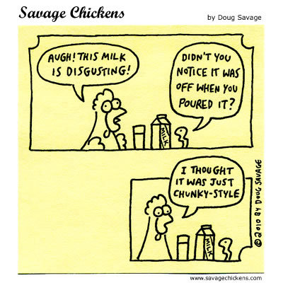 Savage Chickens Comic Strip for April 24, 2014