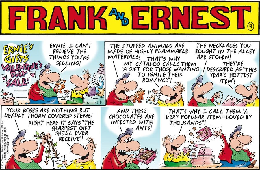 Ernie's Gifts - Valentine's Day Sale!