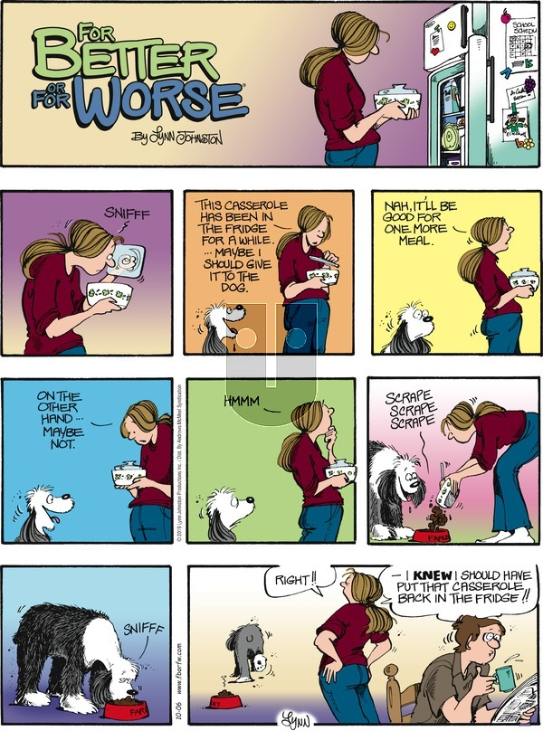 For Better or For Worse - Sunday October 6, 2019 Comic Strip