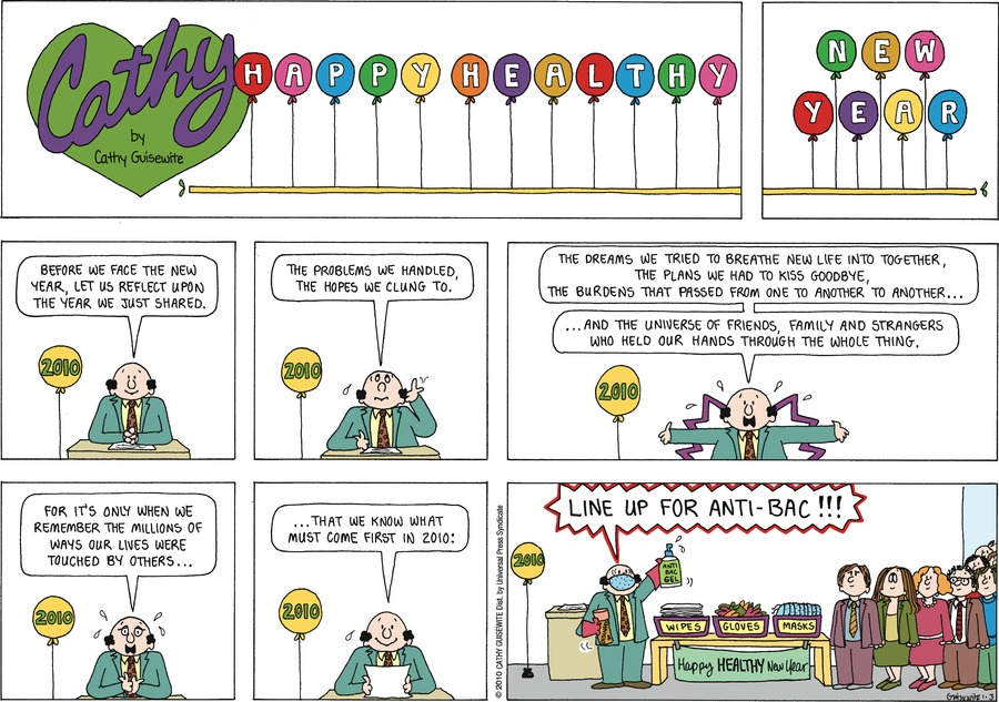 Cathy Classics Comic Strip for January 03, 2021