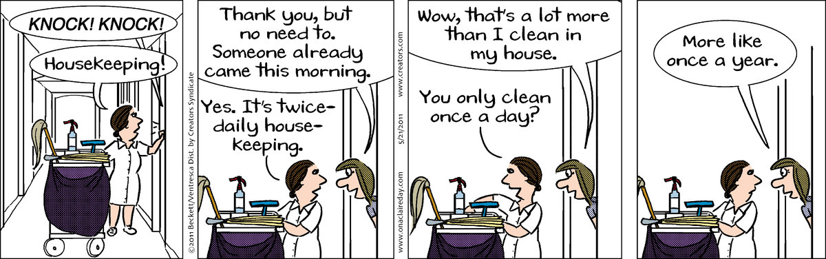 On A Claire Day by Carla Ventresca and Henry Beckett for May 19, 2019