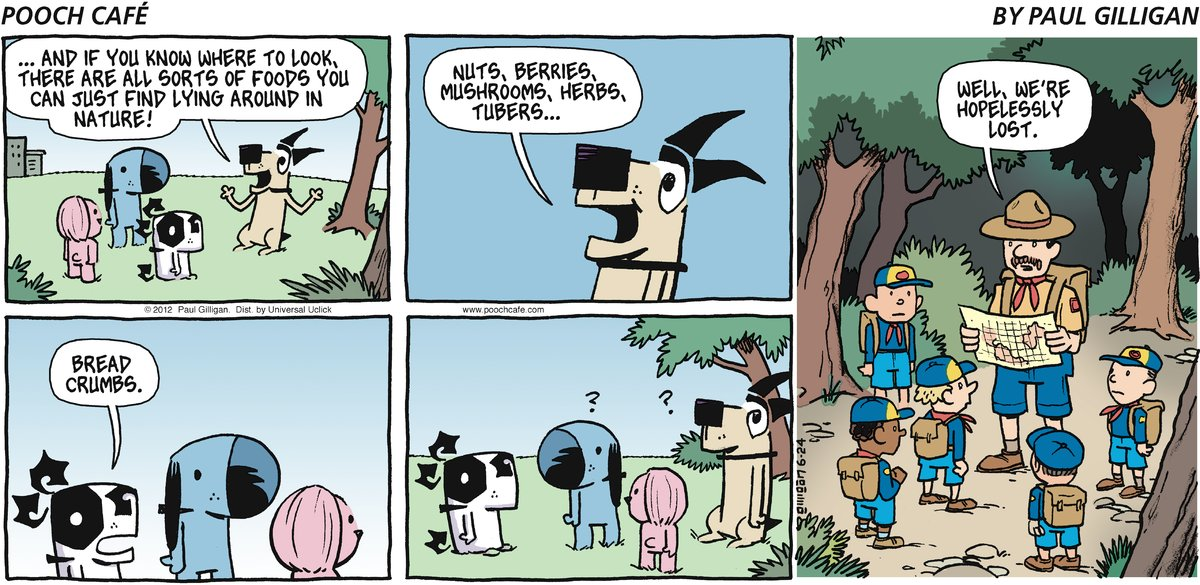 Pooch Cafe Comic Strip for June 24, 2012