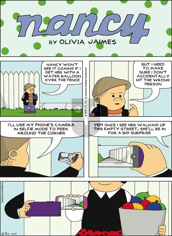 Nancy on Sunday June 2, 2019 Comic Strip