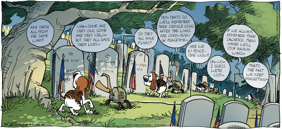 Little Dog Lost Comic Strip for May 30, 2021