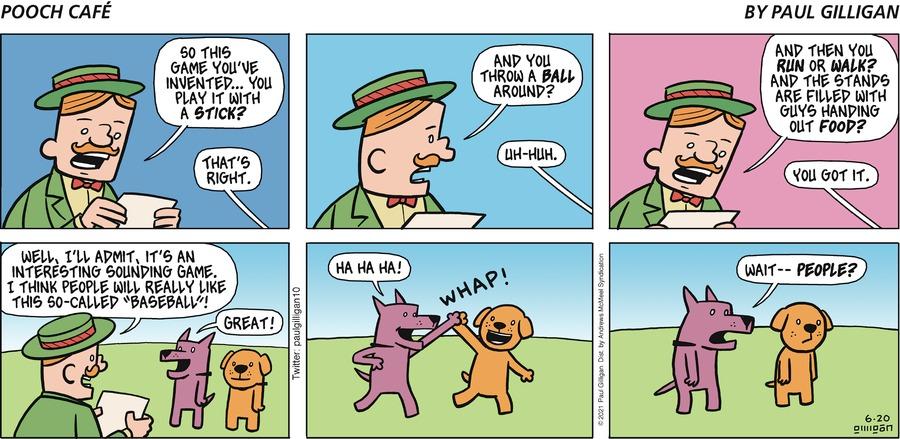 Pooch Cafe Comic Strip for June 20, 2021