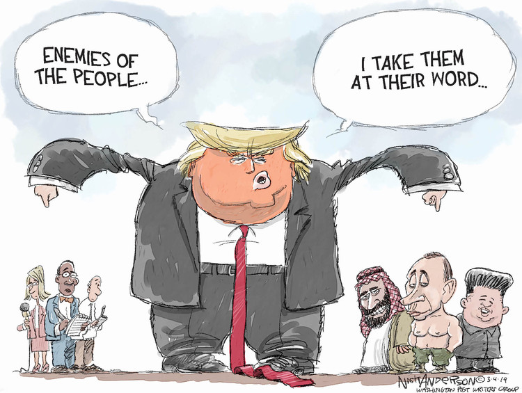Nick Anderson by Nick Anderson for March 04, 2019