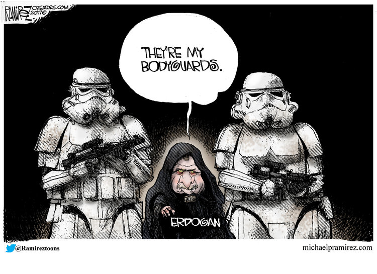 Michael Ramirez Comic Strip for May 26, 2017