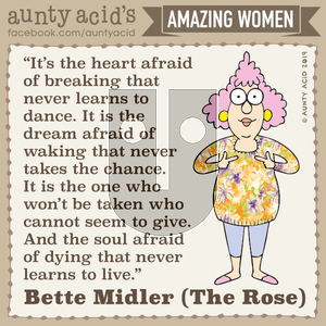 Aunty Acid - Friday November 1, 2019 Comic Strip
