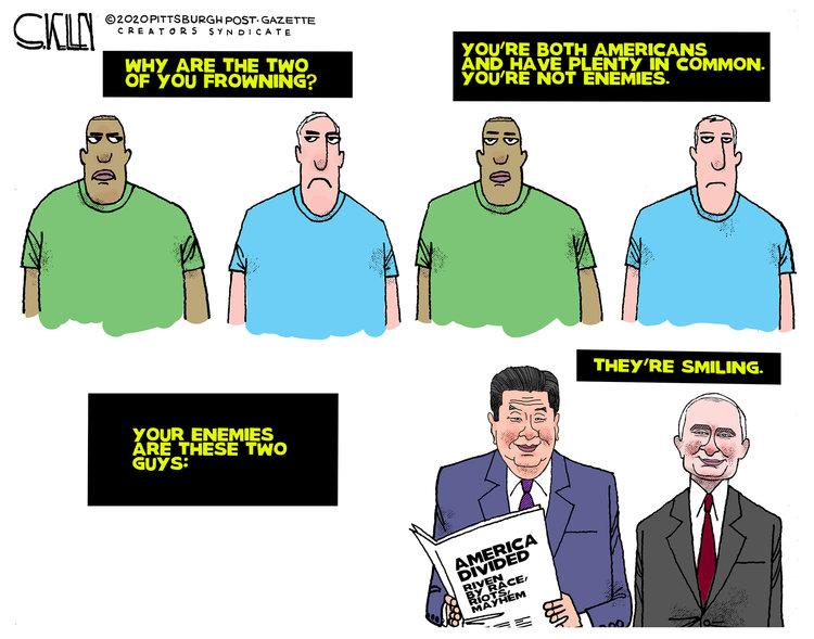 Steve Kelley Comic Strip for June 05, 2020