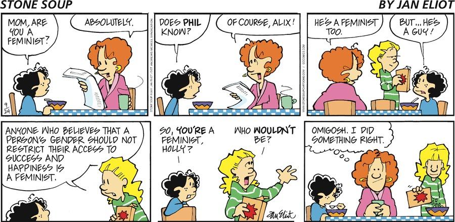 Stone Soup for Sep 24, 2017 Comic Strip