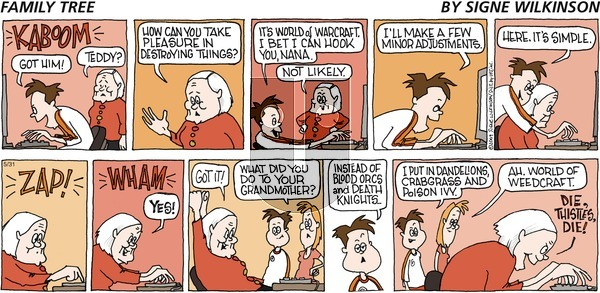 Family Tree on Sunday May 31, 2009 Comic Strip