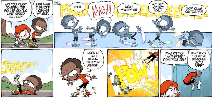 Crabgrass Comic Strip for September 16, 2019