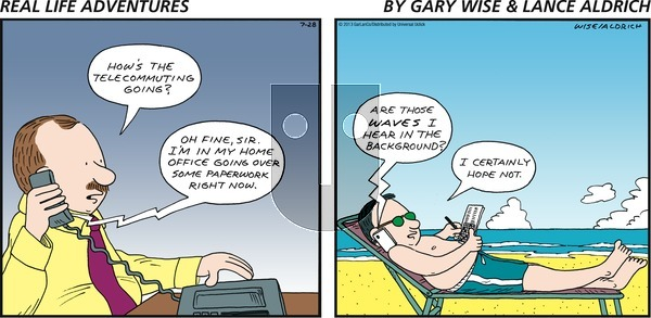 Real Life Adventures on Sunday July 28, 2013 Comic Strip