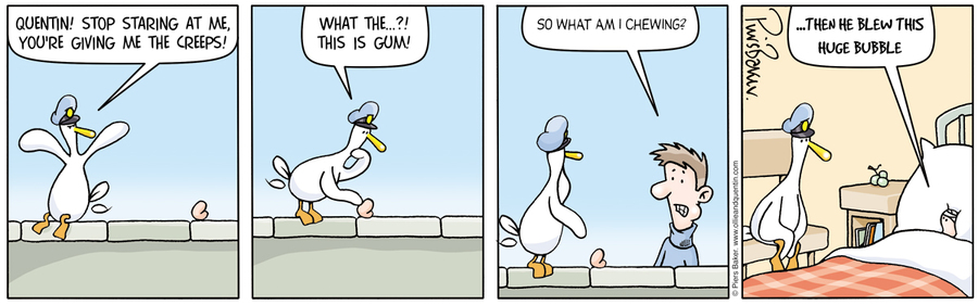 Ollie and Quentin Comic Strip for August 02, 2012