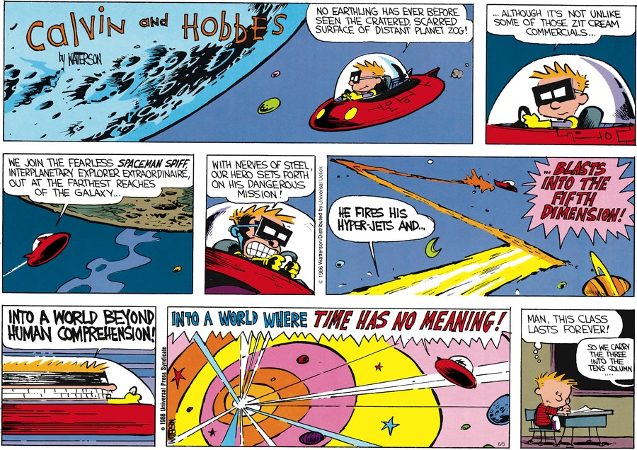 Calvin and Hobbes Comic Strip for June 05, 2016