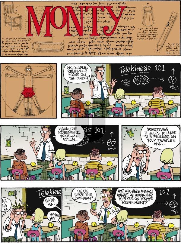 Monty on Sunday June 27, 2021 Comic Strip
